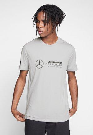 PUMA X AMG MAPM LOGO TEE - Print T-shirt - grey