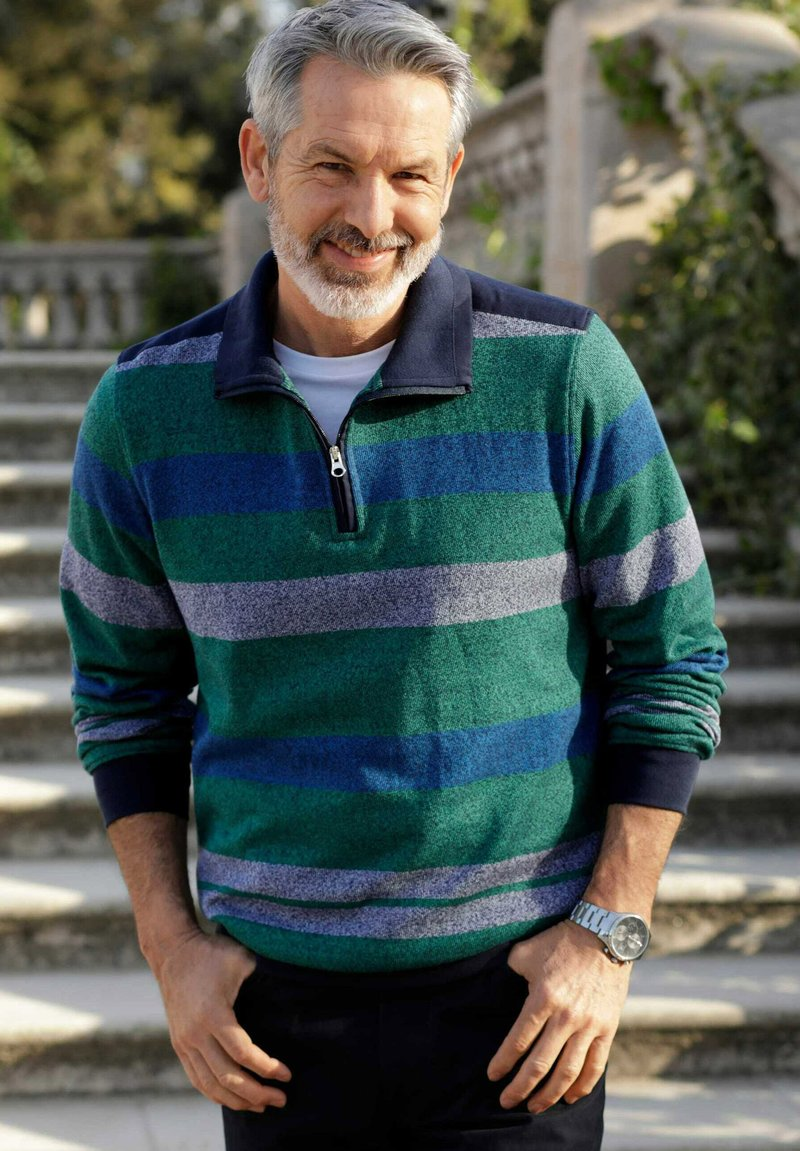 Babista - Sweatshirt - grün,blau