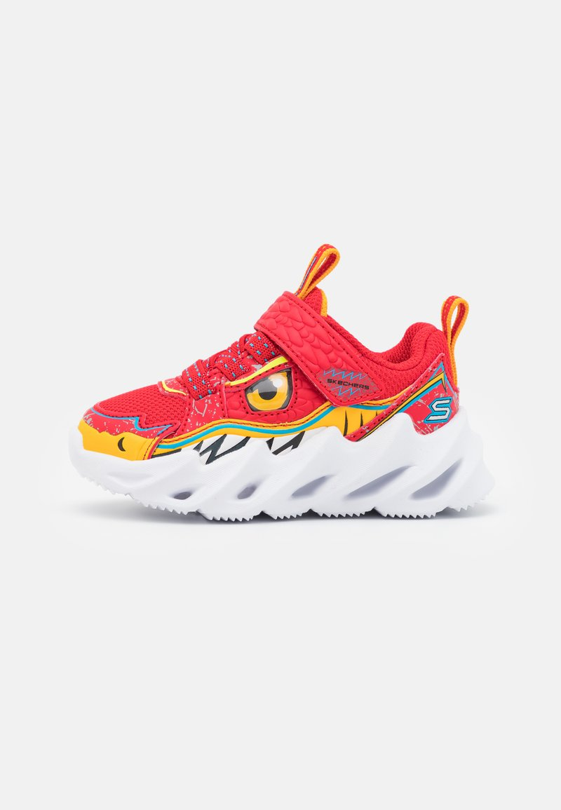 Skechers - SHARK-BOTS - Trainers - red/yellow/blue