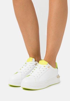 Baskets basses - white/neon