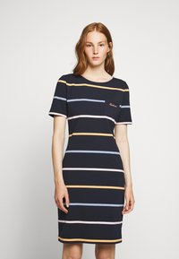 Barbour - STOKEHOLD DRESS - Jersey dress - navy - 0