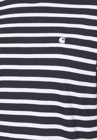 Carhartt WIP - ROBIE - Print T-shirt - dark navy/white - 6