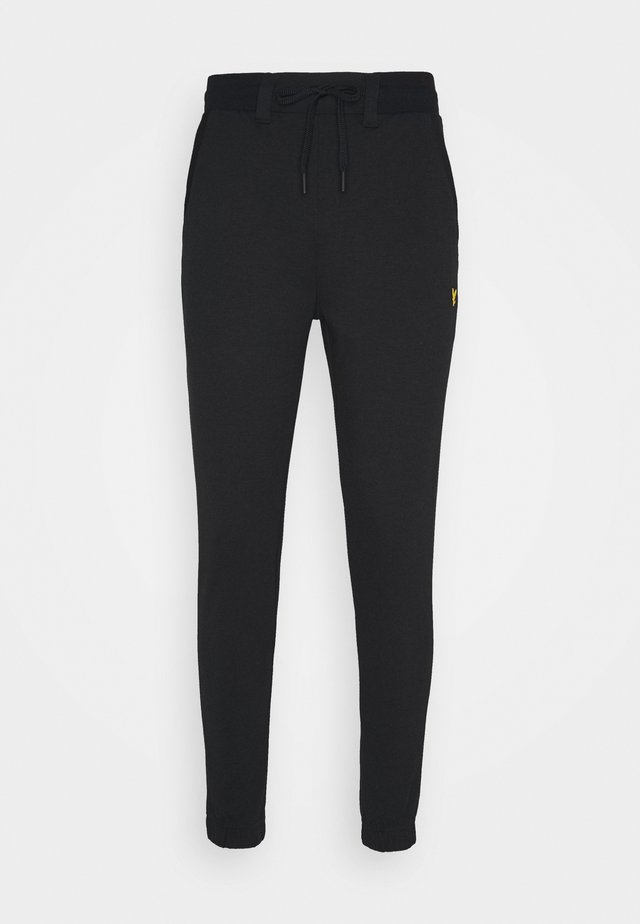 GOLF TRACK PANTS - Culotte - true black