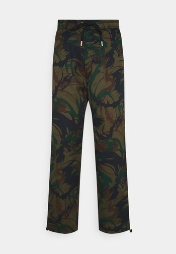 P-TRIBE TROUSERS - Trousers - military green