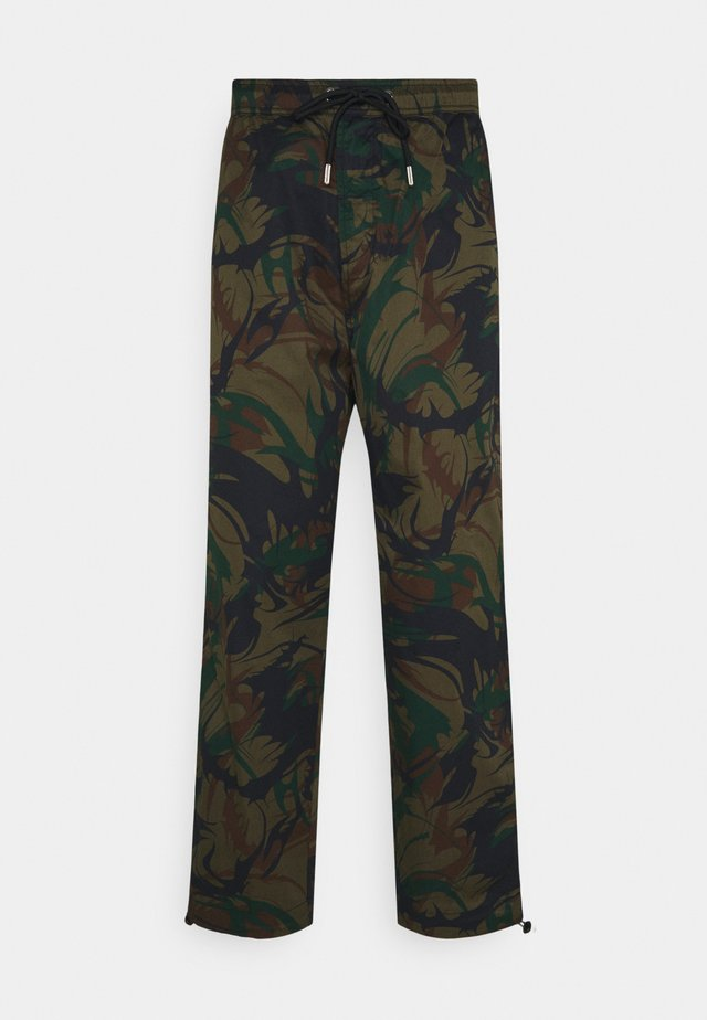 P-TRIBE TROUSERS - Pantaloni - military green