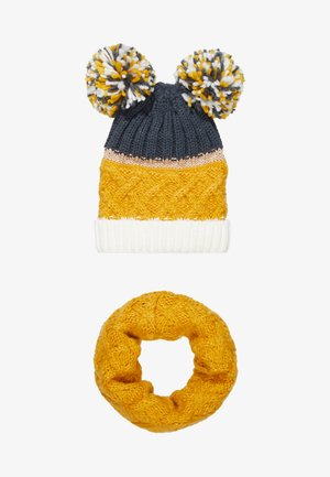 HAT SNOOD SET - Huivi - mustard