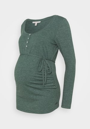 NURSING - Long sleeved top - hay green
