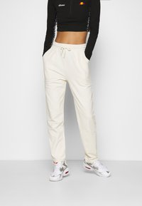 Nly by Nelly - FANCY JOGGERS - Tracksuit bottoms - off-white - 0