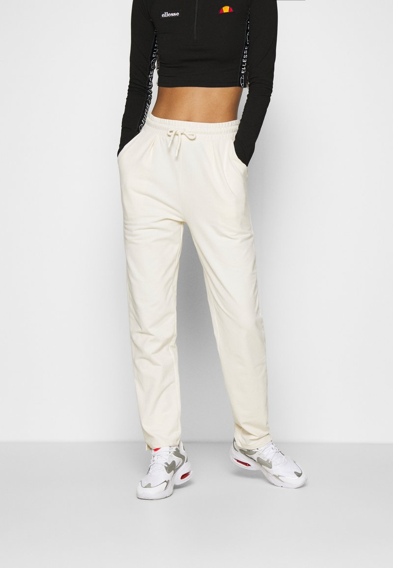 Nly by Nelly - FANCY JOGGERS - Tracksuit bottoms - off-white