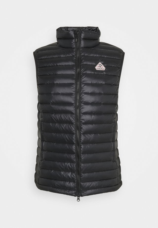 BRUCE - Waistcoat - black