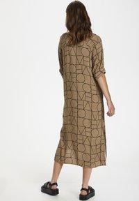 Soaked in Luxury - SLMONTOYA  - Day dress - love print ermine - 2