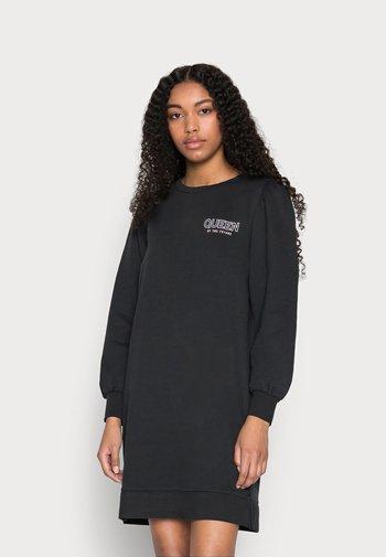 ONLLUCINDA LIFE PUFF DRESS - Day dress - black