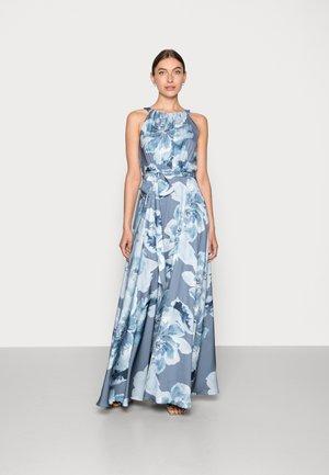 Maxi šaty - vintage blue