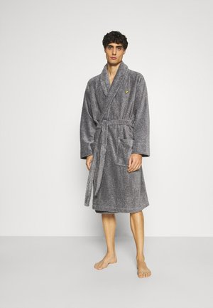 LUCAS - Dressing gown - grey marl