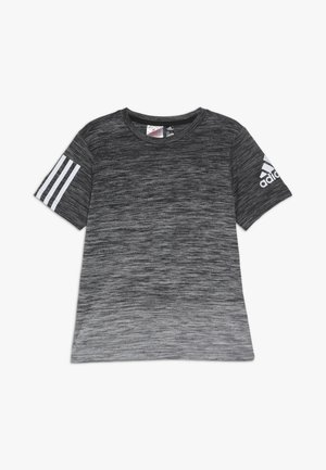 GRAD TEE - T-shirt con stampa - black/white