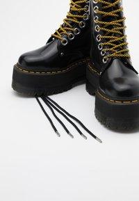Dr. Martens - JADON MAX - Platform ankle boots - black buttero - 5