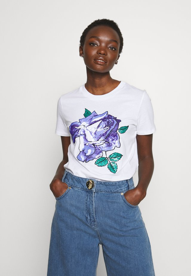 JESONE - T-shirt print - weiss