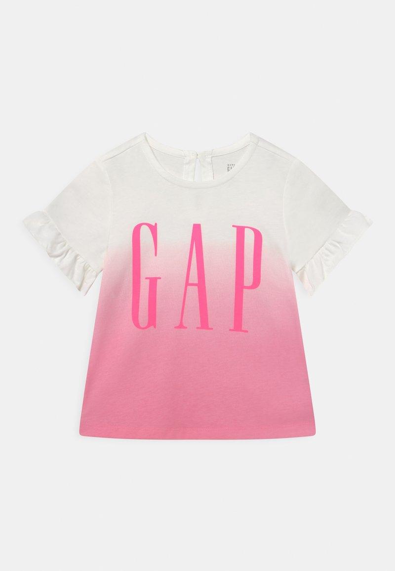 GAP - ARCH - Triko spotiskem - neon impulsive pink