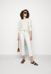 Frame Denim - LE HIGH STRAIGHT SPRING MIX - Straight leg jeans - vintage white multi - 1