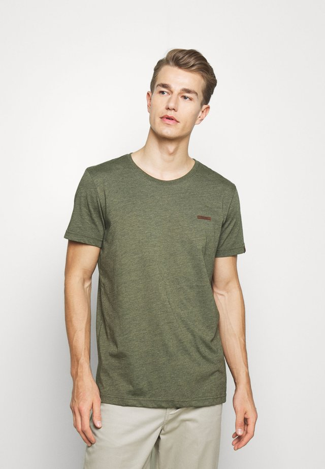 NEDIE - T-shirt basic - olive