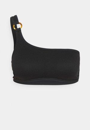 BUSTIER - Bikiniöverdel - black
