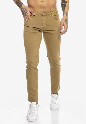 SAITAMA - Slim fit jeans - camel