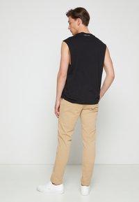 Calvin Klein - SUMMER SLEEVELESS - Top - black - 2