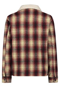 O'Neill - WOOL CHECK - Soft shell jacket - haute red - 1
