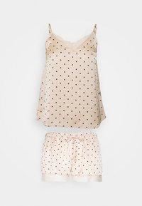 Women Secret - STRAPS SHORT PANT TRENDY - Pyjamas - nude - 0