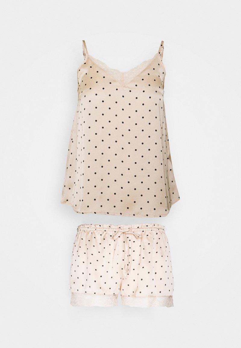 Women Secret - STRAPS SHORT PANT TRENDY - Pyjamas - nude