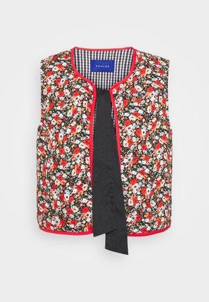 CALLI VEST - Waistcoat - red