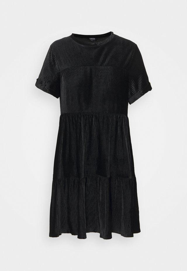 BABY SMOCK DRESS - Denní šaty - black