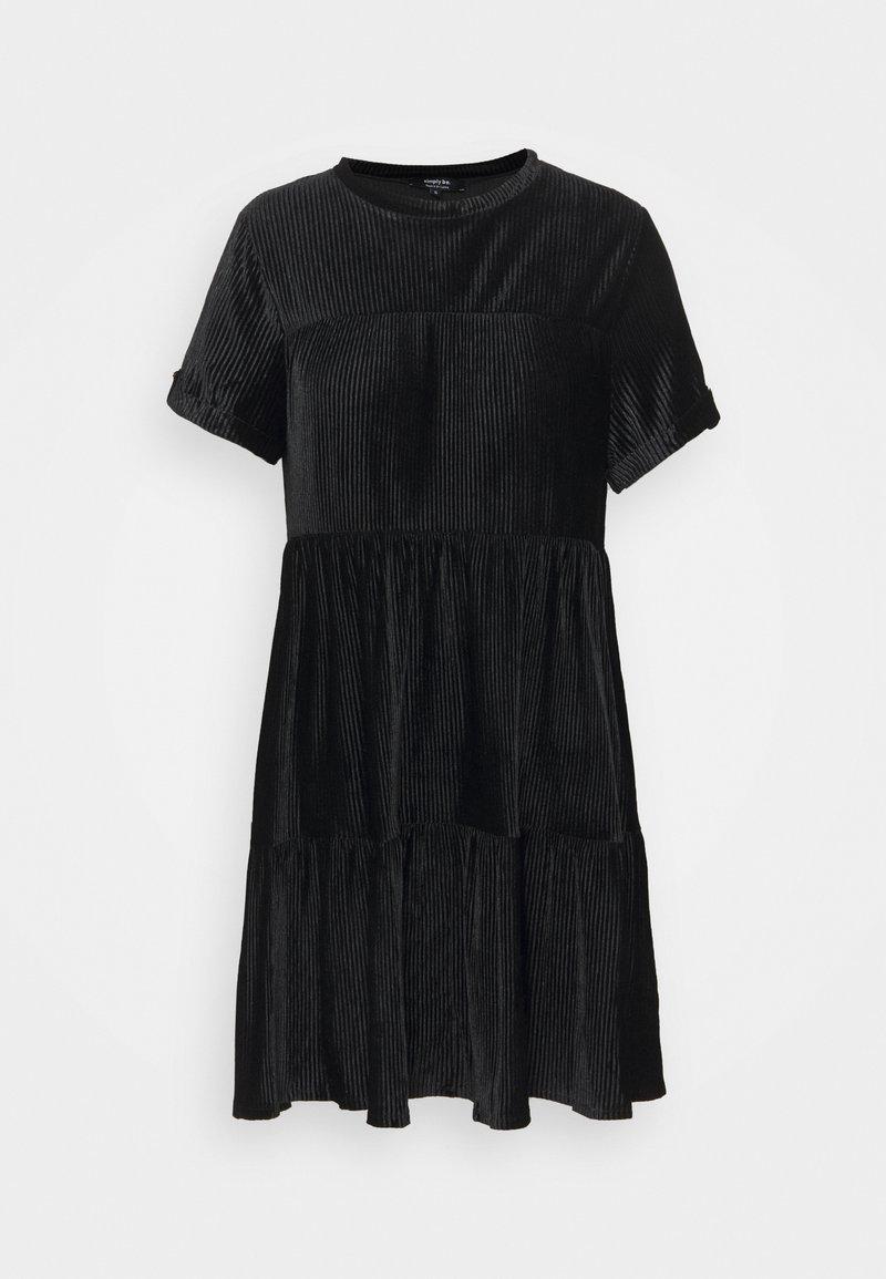 Simply Be - BABY SMOCK DRESS - Day dress - black