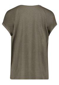 Cartoon - Print T-shirt - khaki/grey - 4