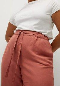 Violeta by Mango - COTILI8 - Trousers - pink - 3