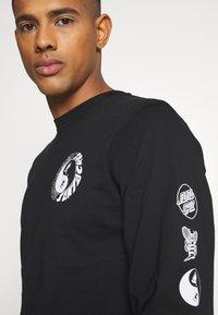 Santa Cruz - SCREAM YING YANG UNISEX - Camiseta de manga larga - black - 6