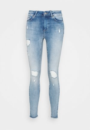 ONLBLUSH LIFEMID - Jeans Skinny Fit - light blue denim