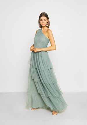 VIDIA BRIDESMAIDS DRESS - Iltapuku - oil blue
