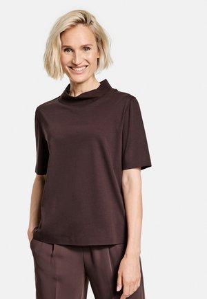 1/2 ARM - Basic T-shirt - dark chestnut