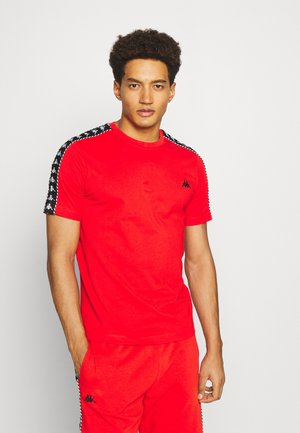 ILYAS - Print T-shirt - firey red