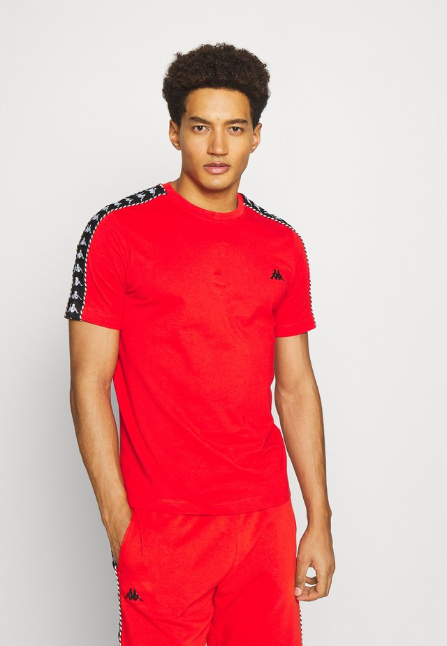 ILYAS - T-shirt print - firey red