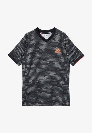 T-shirt con stampa - black/truora