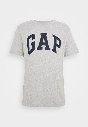 BASIC LOGO - Print T-shirt - light heather grey