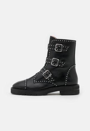 JESSE LIFT - Cowboy/biker ankle boot - black