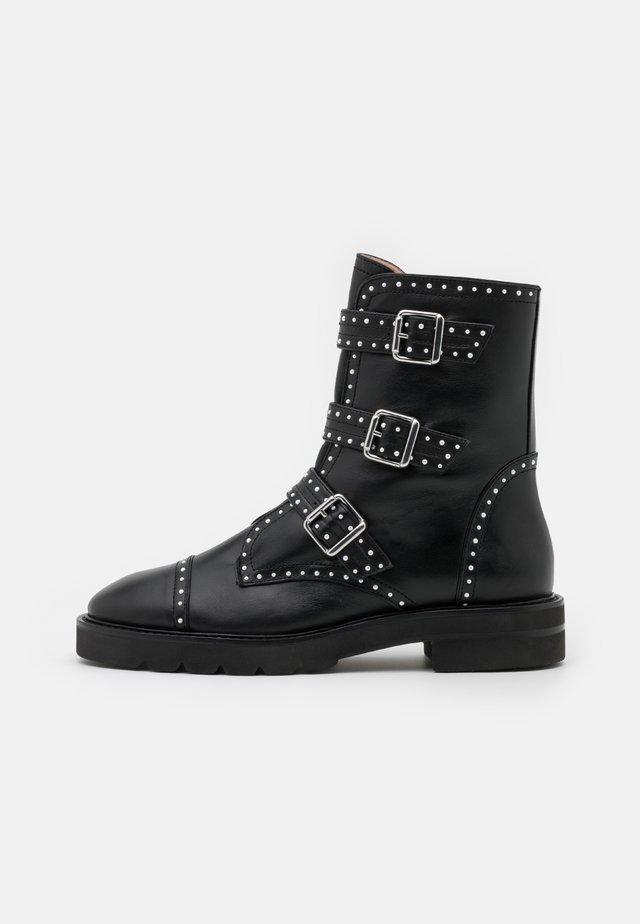 JESSE LIFT - Kovbojské/motorkářské boty - black