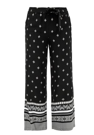 Trousers - black panneau