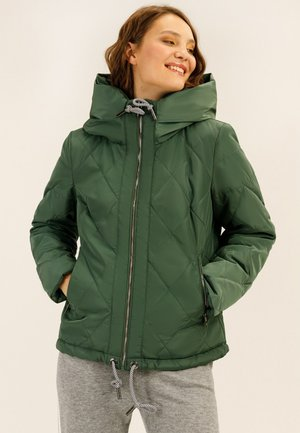Winter jacket - greenery