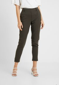 ONLY - ONLGINA KAYA PANTS - Broek - beluga - 0