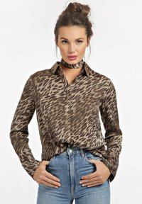 Guess - Button-down blouse - animalier - 0
