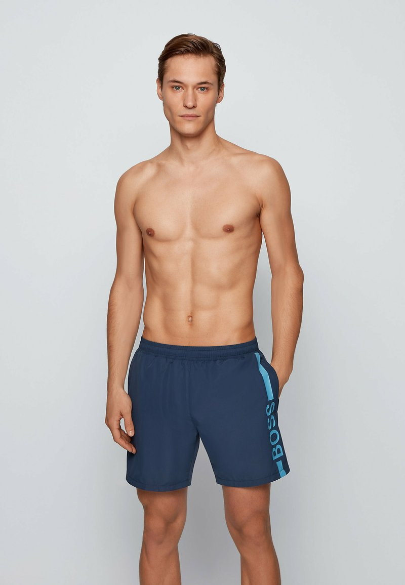 BOSS - DOLPHIN - Swimming shorts - dark blue